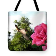 Rose And Rufous Tote Bag
