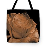 Rose Art  Sepia Tote Bag