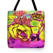 Rose Boquet Art Tote Bag
