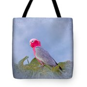 Rose Breasted Cockatoo In A Eucalyptus Tree Tote Bag