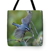 Rose Breasted Nuthatch Flying Tote Bag
