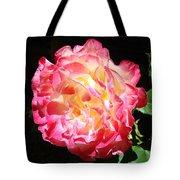 Rose Floral Fine Art Prints Pink Roses Flower Tote Bag