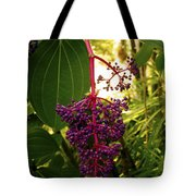 Rose Grape Tote Bag