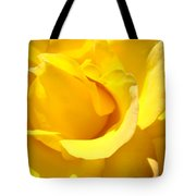Rose Petal Flower Yellow Colorful Rose Floral Baslee Tote Bag