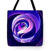 Rose Series - Violet-colored Tote Bag