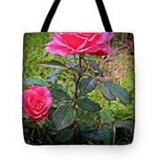 Rose Vignette Tote Bag