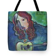 Roseanne Cash Tote Bag