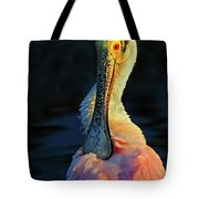 Roseate Spoonbill Preening Tote Bag