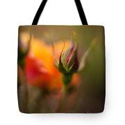 Rosebud Details Tote Bag