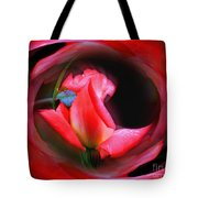 Rosebud Energies Tote Bag