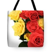 Roses Closeup Tote Bag