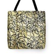 Roses Pattern Tote Bag by Setsiri Silapasuwanchai