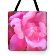 Roses Perfectly Pink Tote Bag