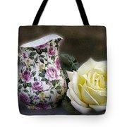 Roses Speak Of Romance Tote Bag