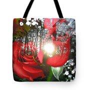 Rosesredred Tote Bag