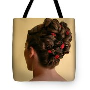Rosettes Tote Bag by Kristin Elmquist
