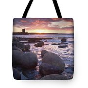 Roslee Castle, Easky, County Sligo Tote Bag