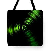 Rotation Green Tote Bag