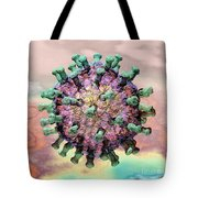 Rotavirus 2 Tote Bag by Russell Kightley