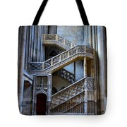 Rouen Cathedral Stairway Tote Bag