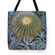 Round Cactus Tote Bag