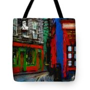 Round The Corner Tote Bag