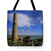 Round Tower, Ardmore, Co Waterford Tote Bag