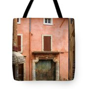 Roussillon Painted Door Tote Bag