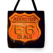 Route 66 Addicted Tote Bag