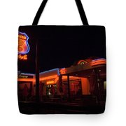 Route 66 At Night Tote Bag