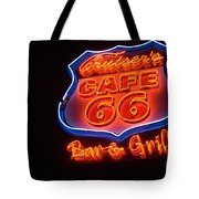 Route 66 Bar And Grill Tote Bag