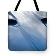 Route 66 Blue Hood Tote Bag