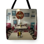 Route 66 Burgers Tote Bag