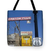 Route 66 Canyon Club Tote Bag