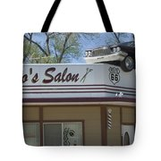 Route 66 Desotos Salon Tote Bag