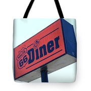 Route 66 Diner Sign Tote Bag