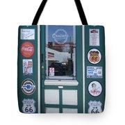 Route 66 Doorway Tote Bag
