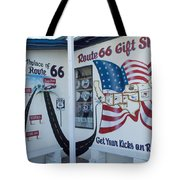 Route 66 Gift Shop Tote Bag