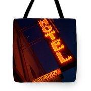 Route 66 Hotel Williams Tote Bag