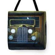 Route 66 Motel Mural Tote Bag