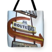 Route 66 Motel Sign 1 Tote Bag
