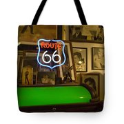 Route 66 Neon Sign 1 Tote Bag