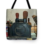Route 66 Odell Il Gas Station Shelf Items Digital Art Tote Bag