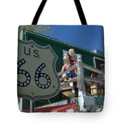 Route 66 Seligman Arizona Tote Bag