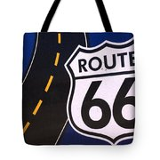 Route 66 Sign Winslow Arizona Tote Bag