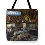 Route 66 Vintage Garage Tote Bag