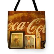 Route 66 Vintage Signage Tote Bag