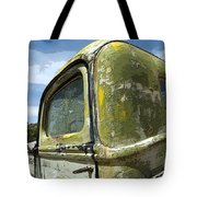 Route 66 Vintage Truck Tote Bag