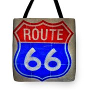 Route 66 Wall Art-2 Tote Bag