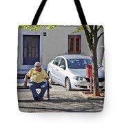 Rovinj Man Tote Bag